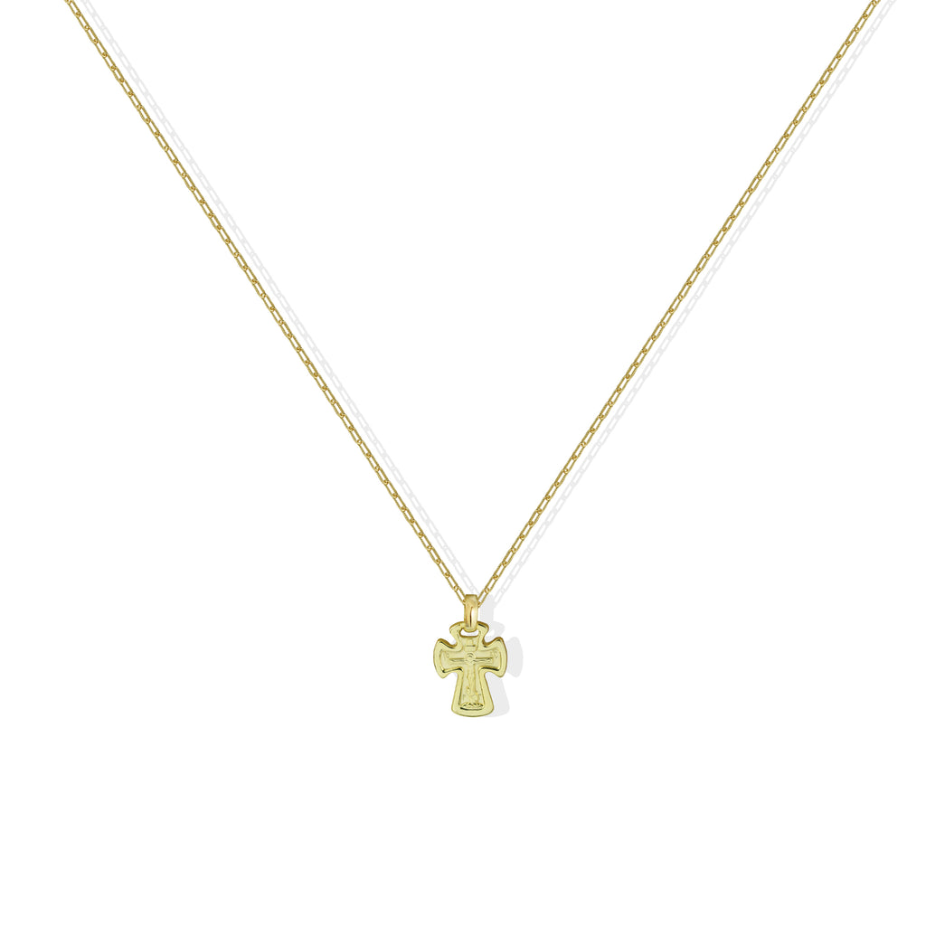 THE CELTIC CROSS PENDANT NECKLACE