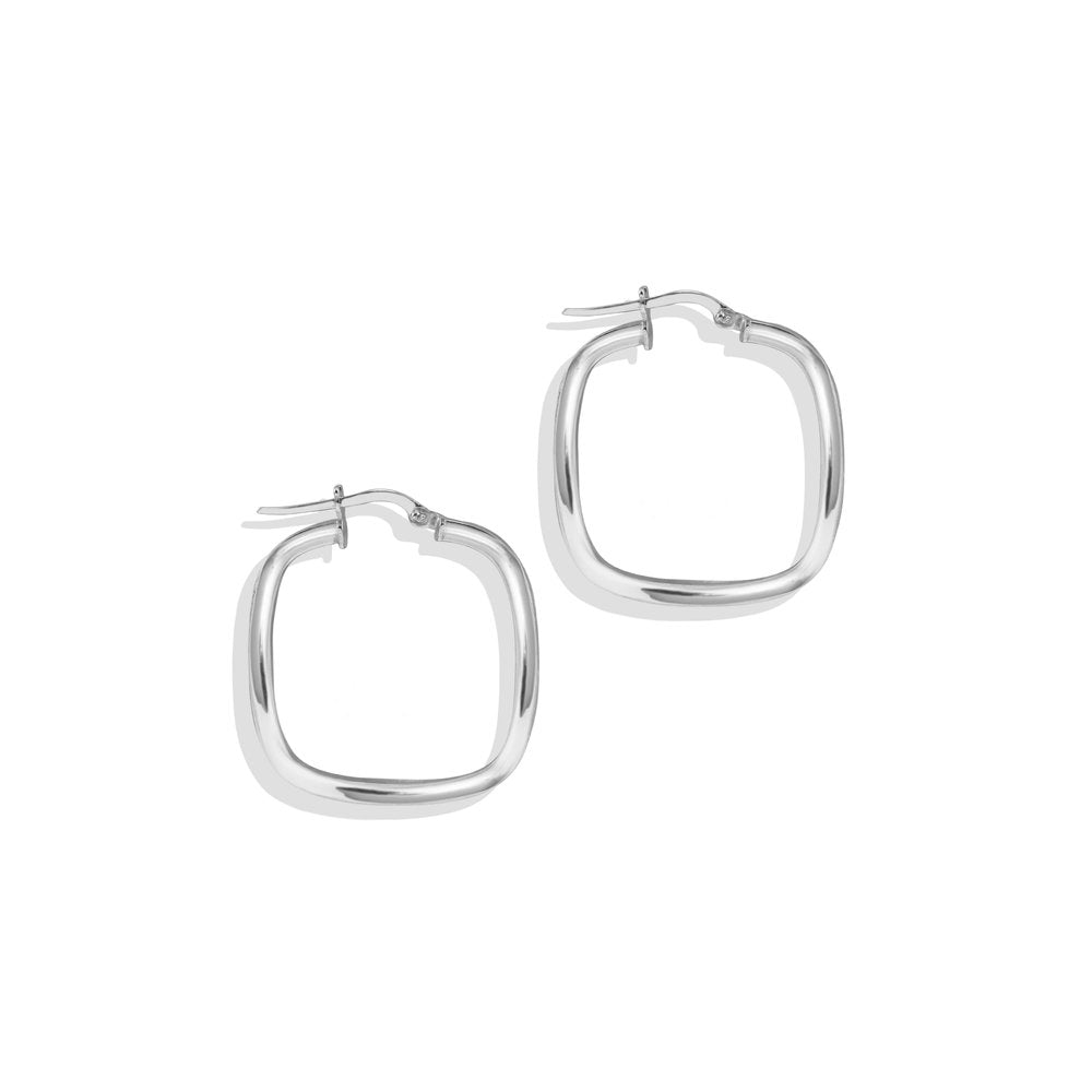 SMALL SQUARE HOOP