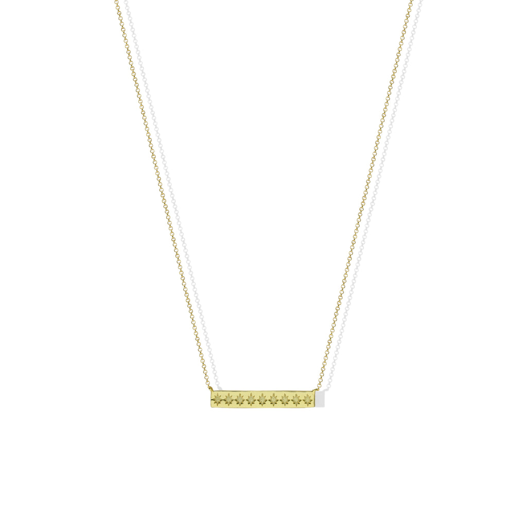 THE STARLIGHT BAR NECKLACE