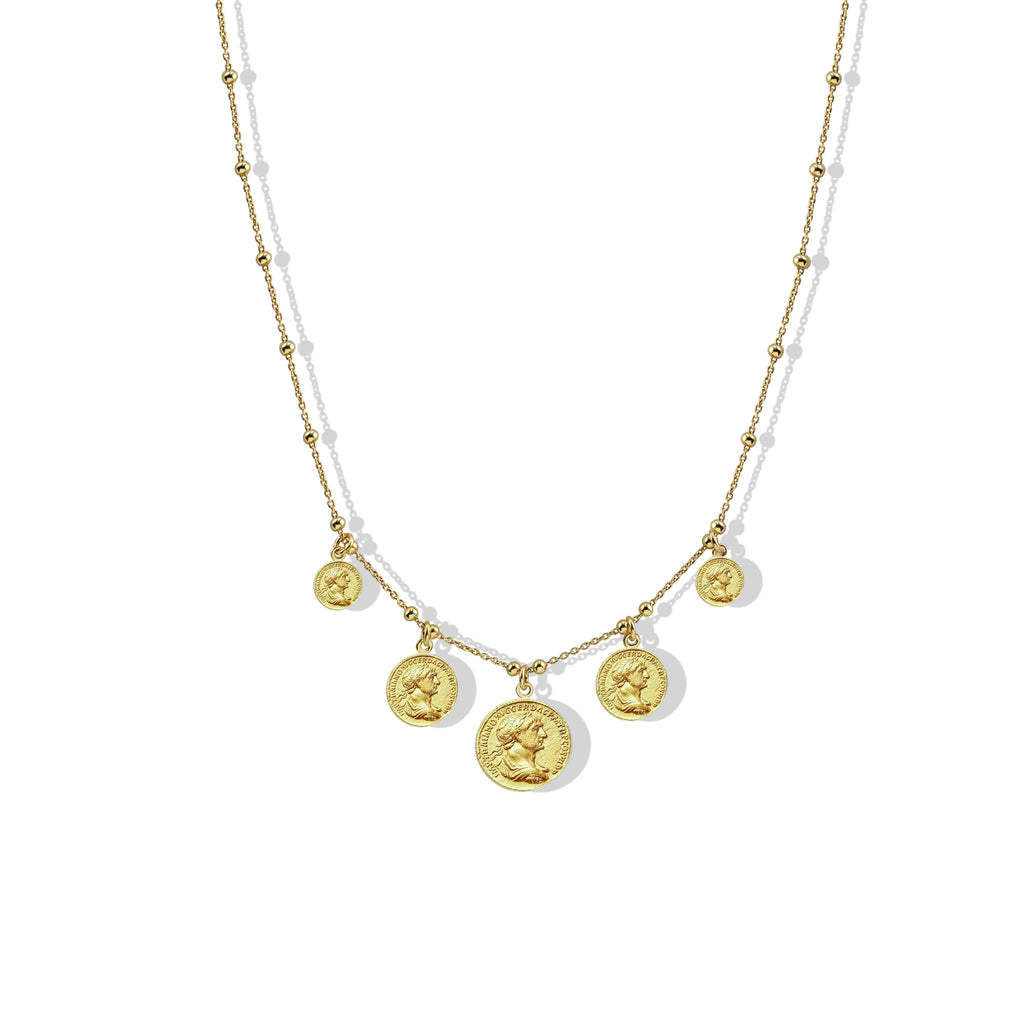 THE GRECIAN COIN NECKLACE