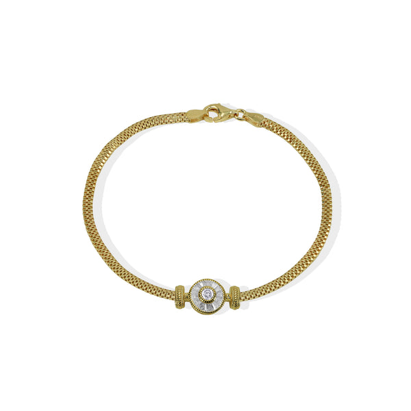 THE ARCHIVE CZ CIRCLE BRACELET