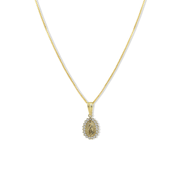 THE CZ GUADALUPE NECKLACE