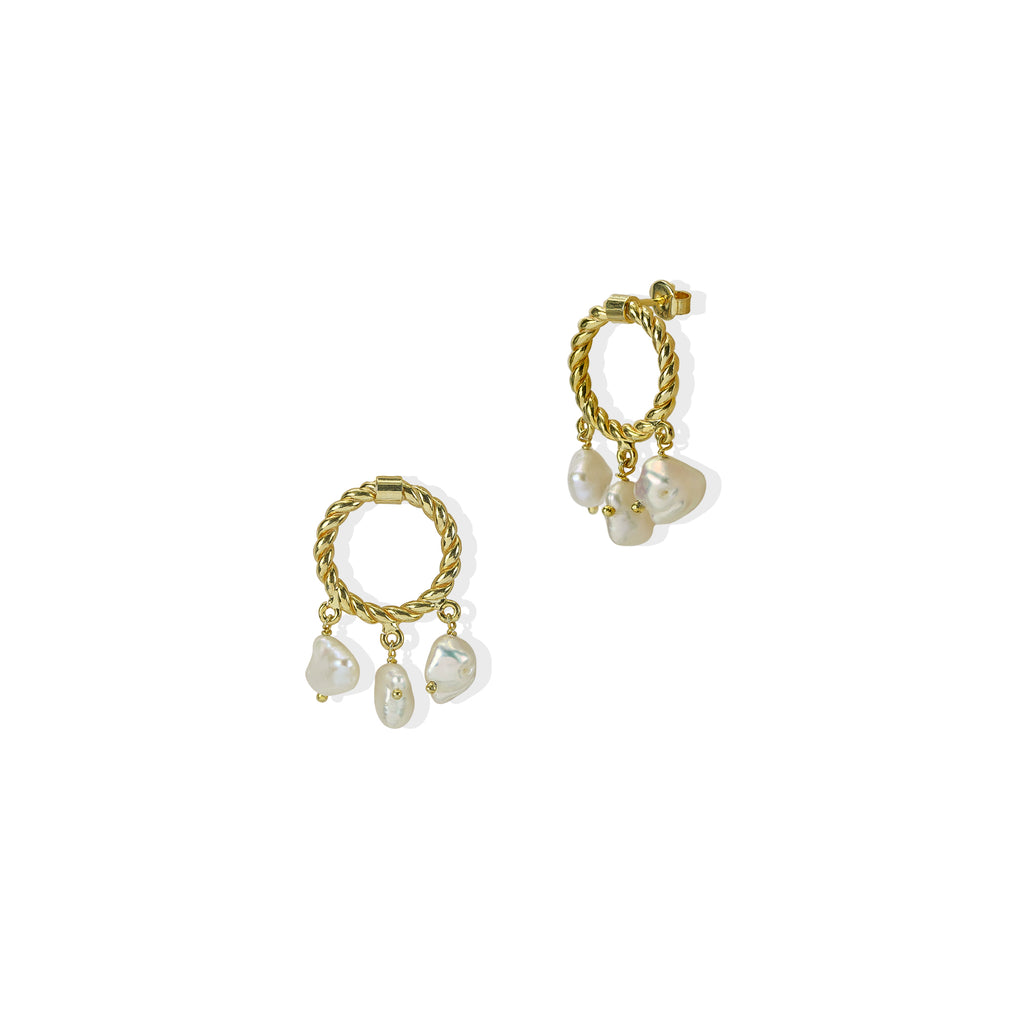 THE CAPRIANA PEARL EARRING