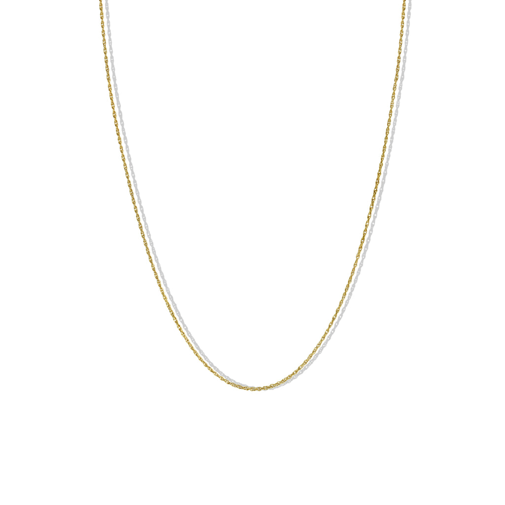 THE DAINTY ROPE CHAIN NECKLACE