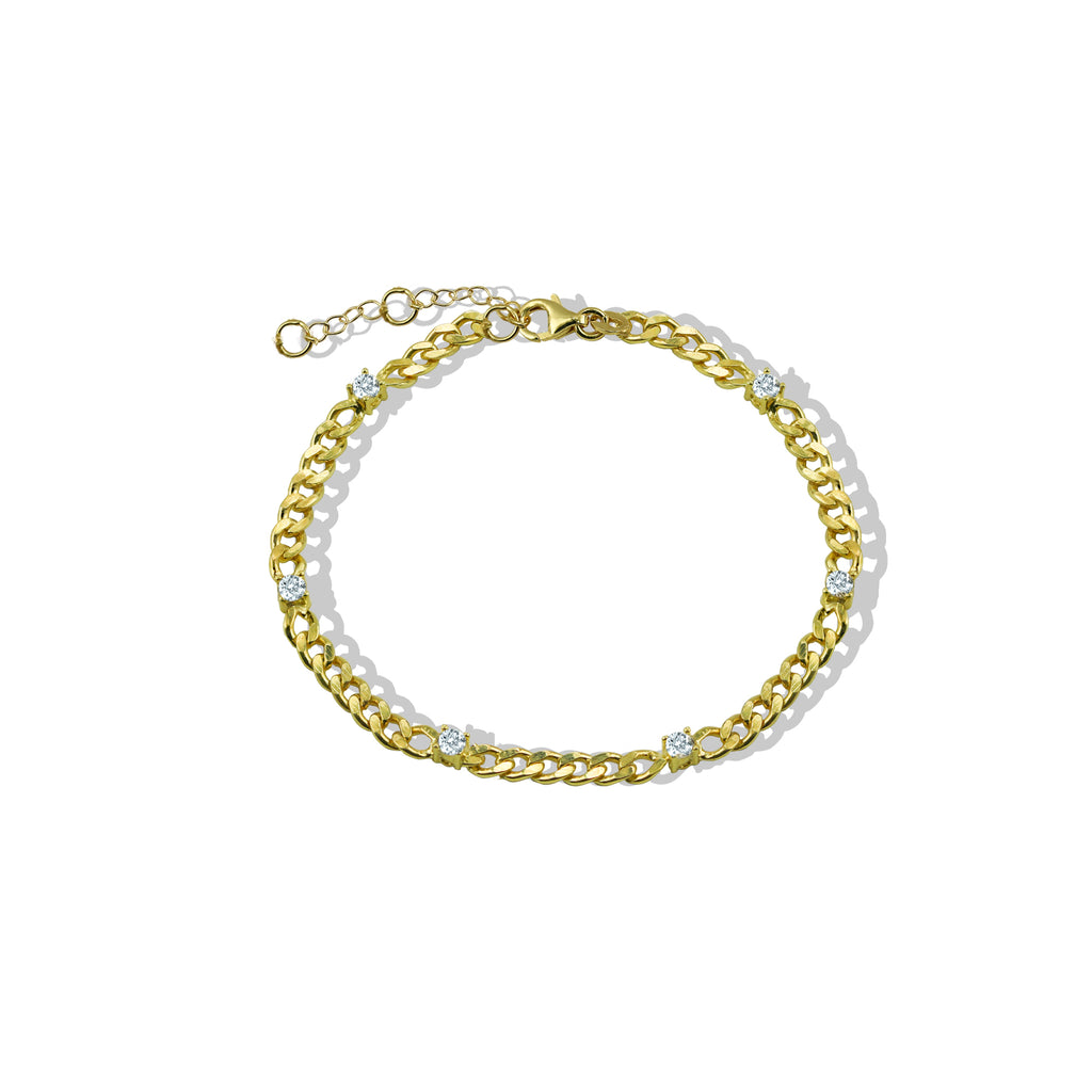 THE ANA CURB CHAIN BRACELET