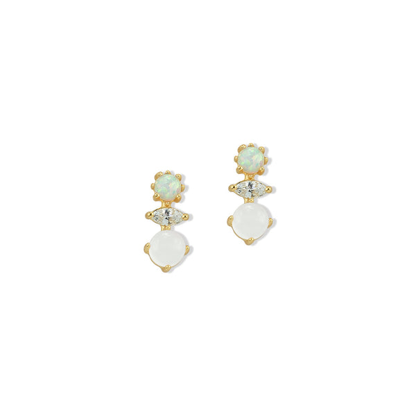 OPAL MULTI STUD EARRINGS