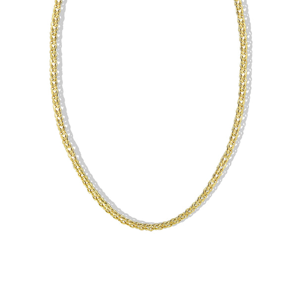 THE LOURDES CHAIN NECKLACE
