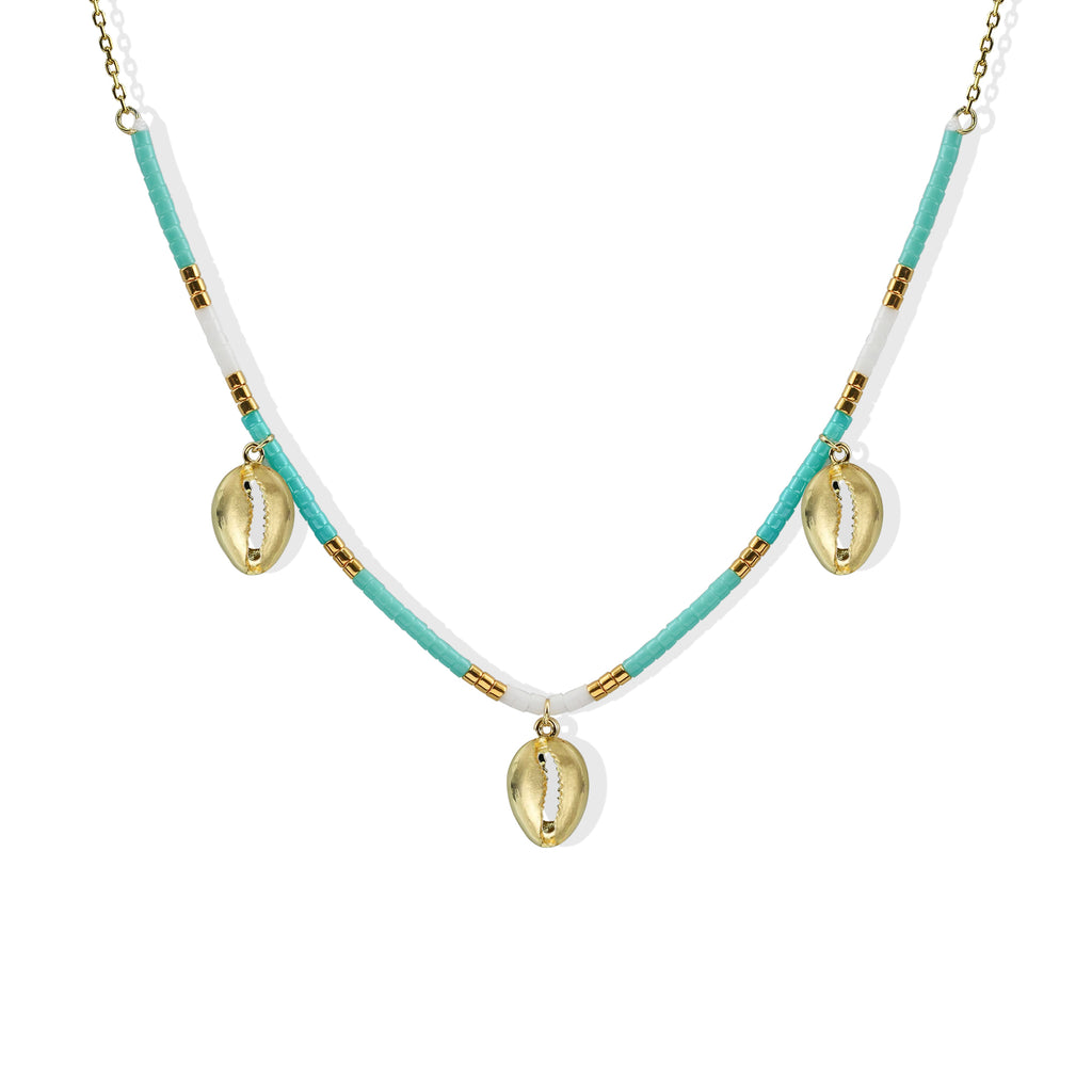 THE OCEANA SHELL NECKLACE
