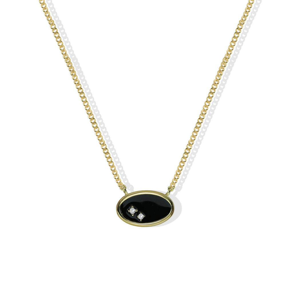 THE OPHELIA ENAMEL NECKLACE