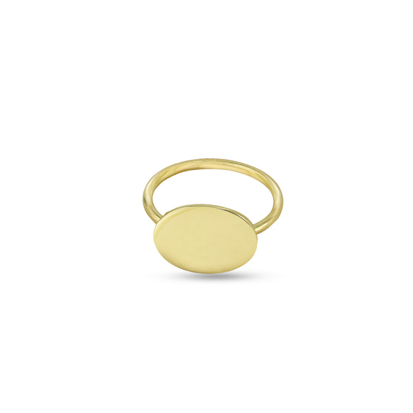 THE PERSONALIZED OVAL RING