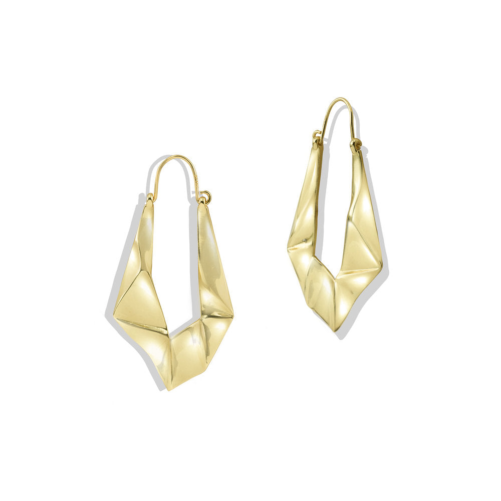 JAGGED DROP EARRINGS