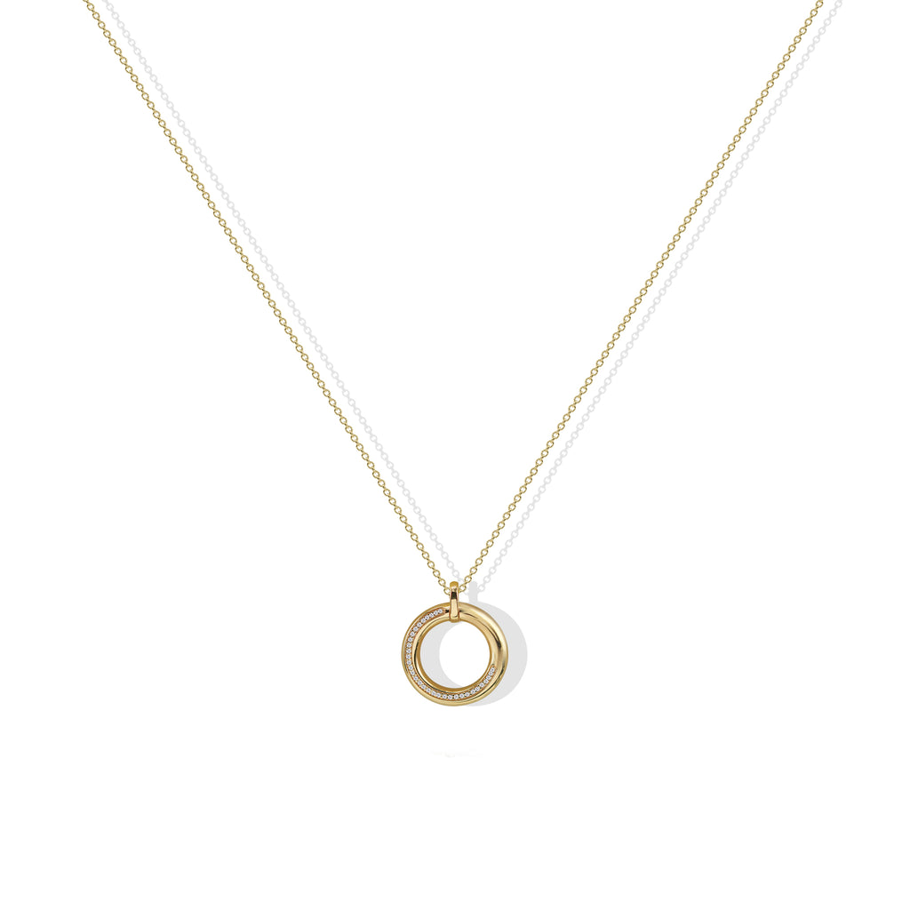 THE CIRCLE PENDANT NECKLACE
