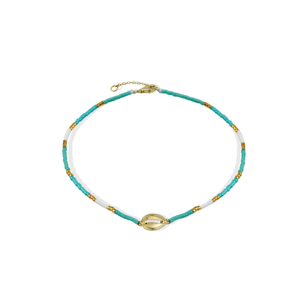 THE PLAYA SHELL ANKLET