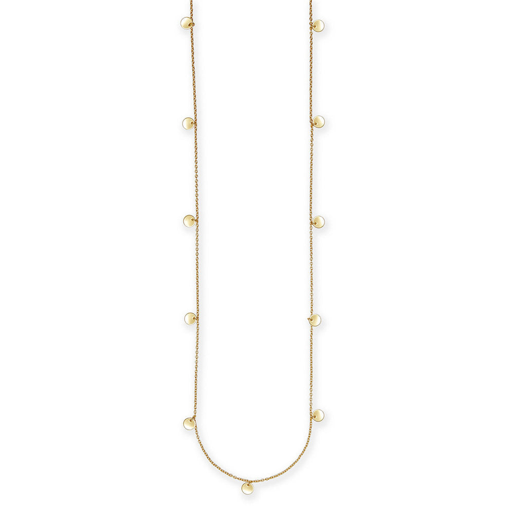 "CARMEN DISC STATION 36"" NECKLACE"