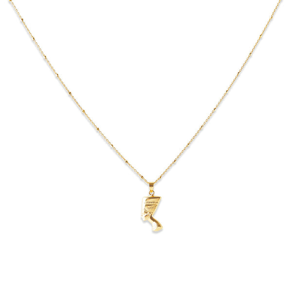 QUEEN NEFERTITI PENDANT NECKLACE
