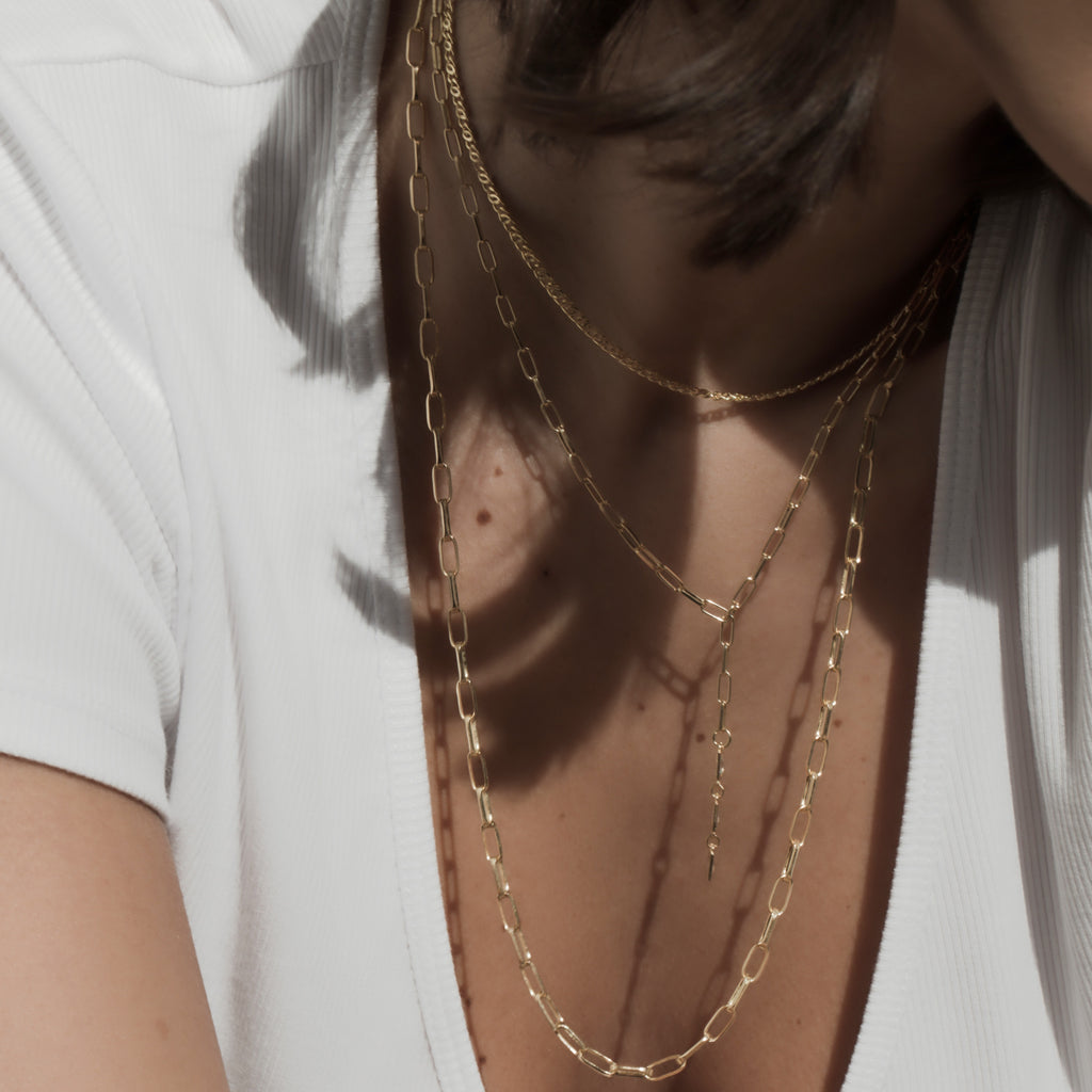 THE LENA LARIAT NECKLACE