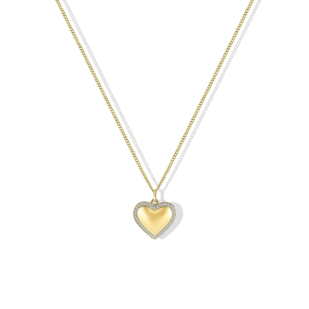 THE PERSONALIZED LIEBE HEART PENDANT NECKLACE