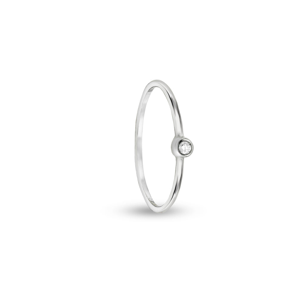 SINGLE CZ INFINITY BAND