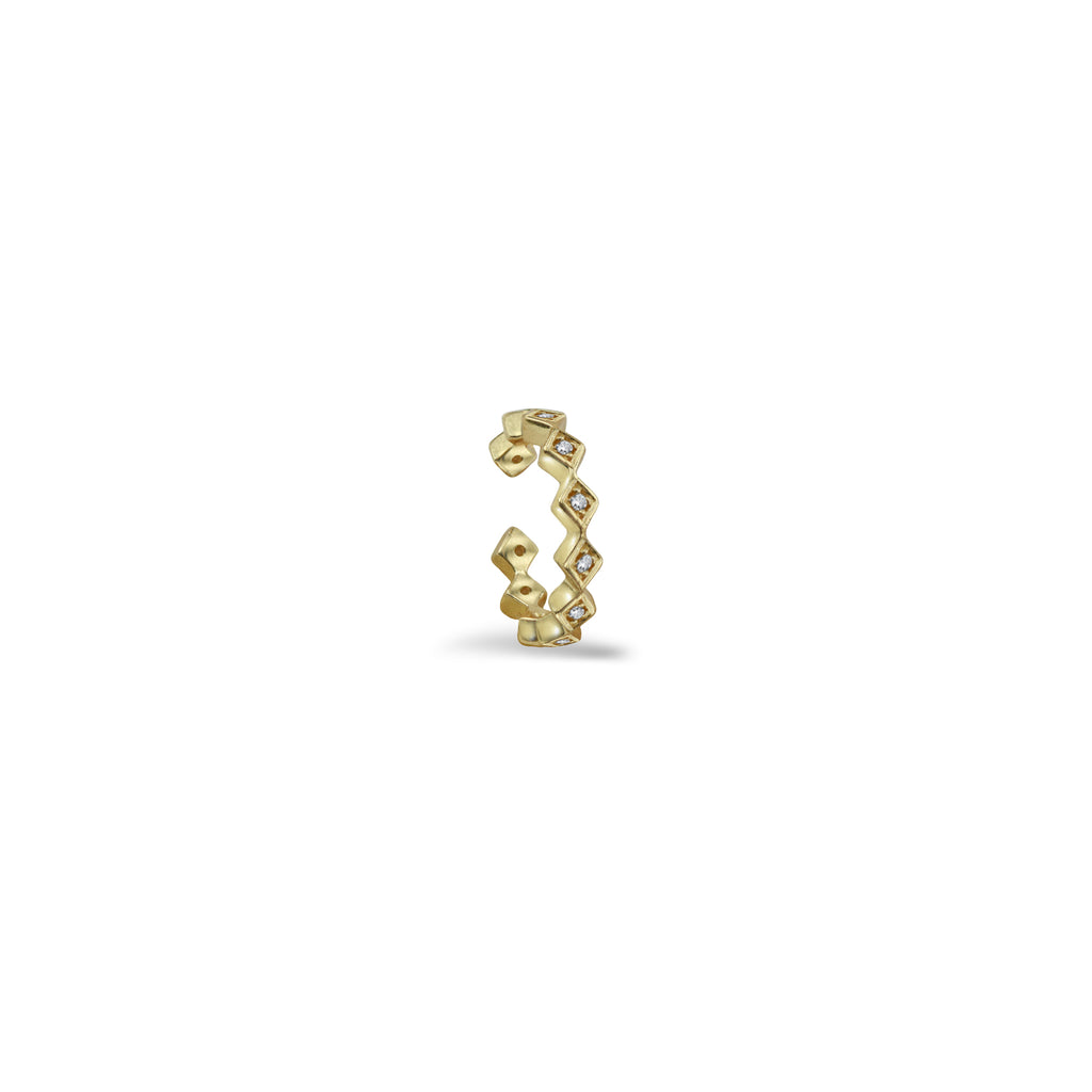 THE DIA CZ EAR CUFF