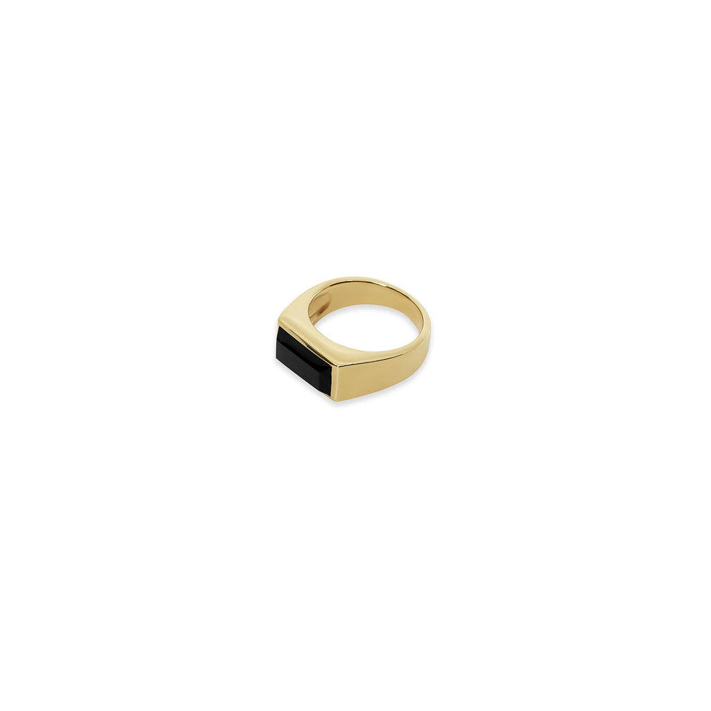 THE ONYX RECTANGLE RING