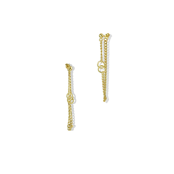 THE ROXE CHAIN LINK EARRING