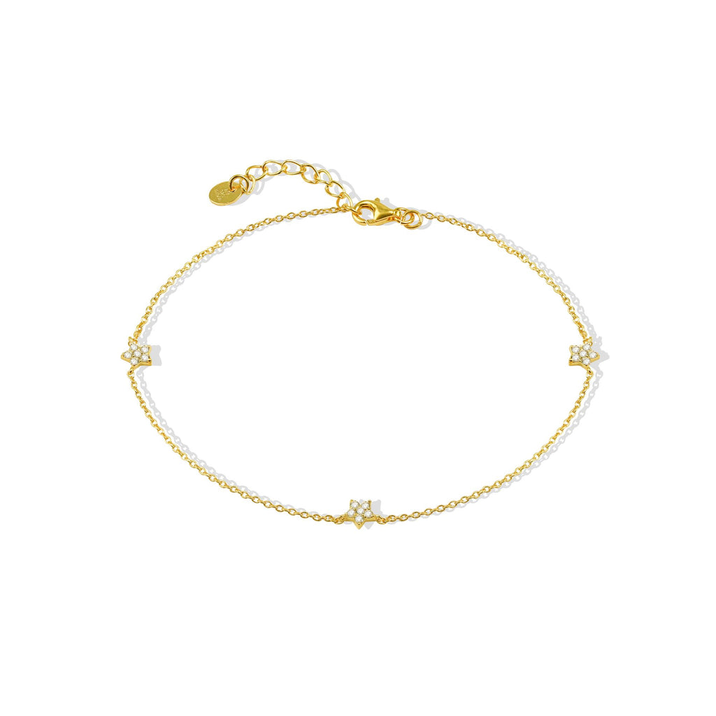 THE PAVE STAR ANKLET