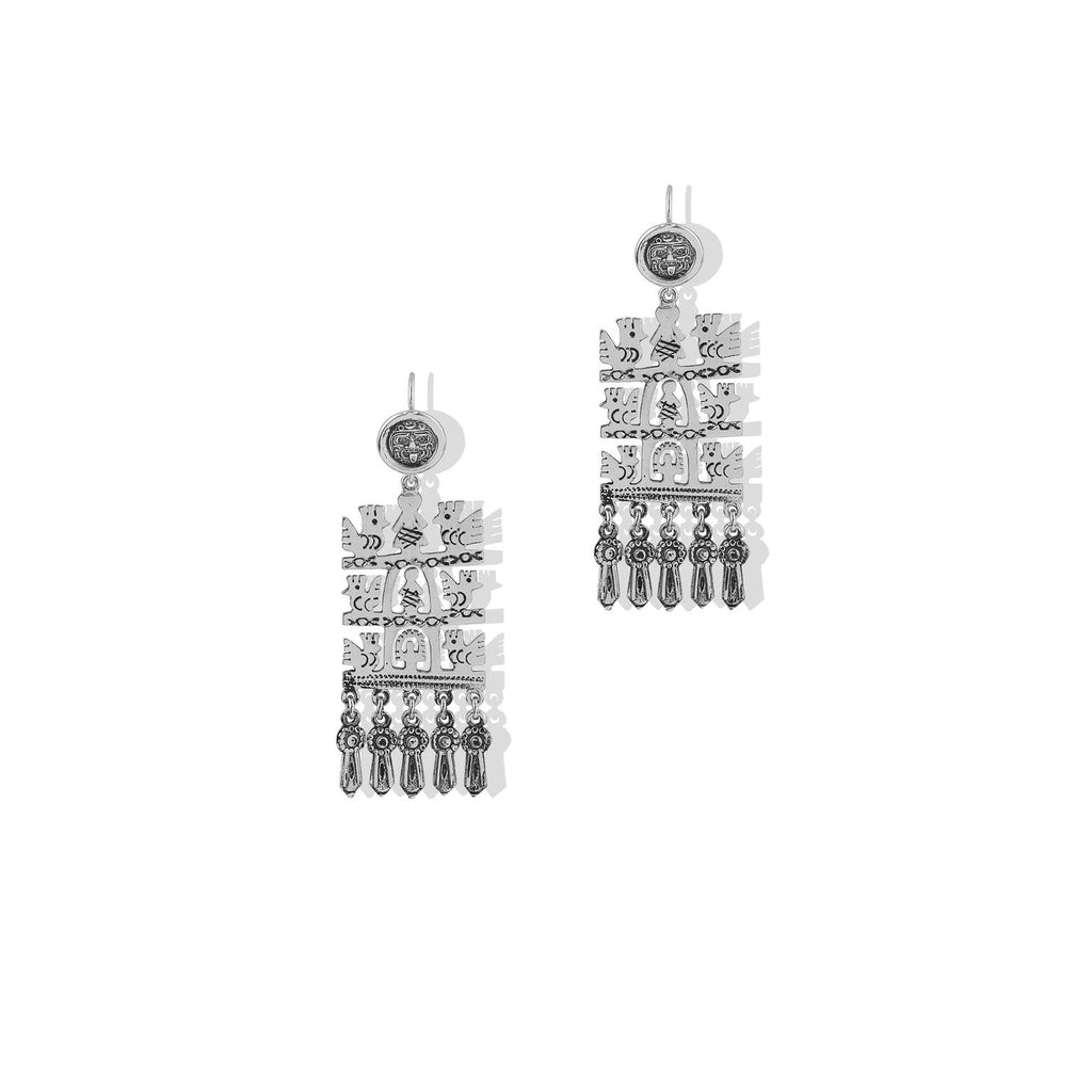 THE AZTE DROP EARRING