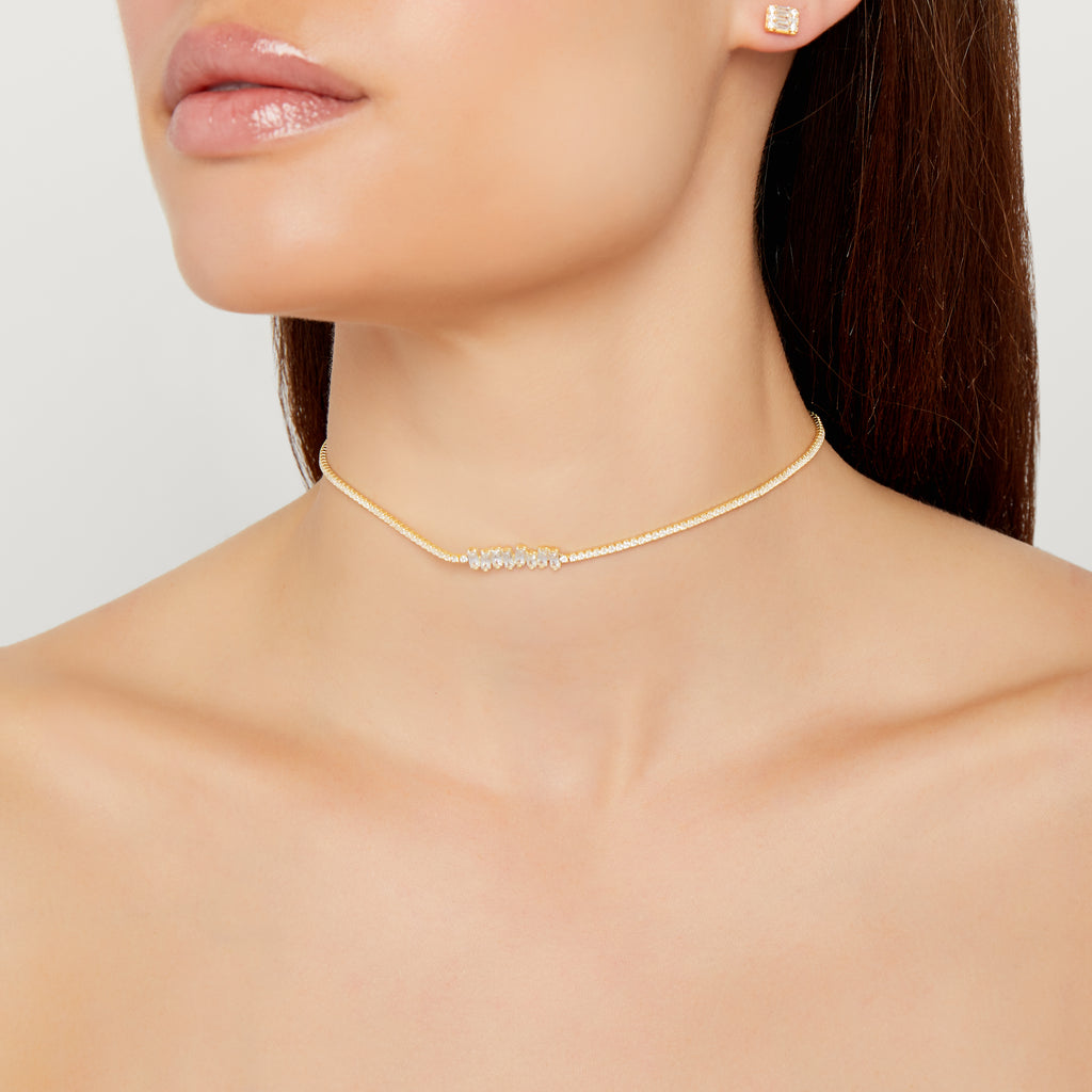 THE KARLA BAGUETTE CHOKER