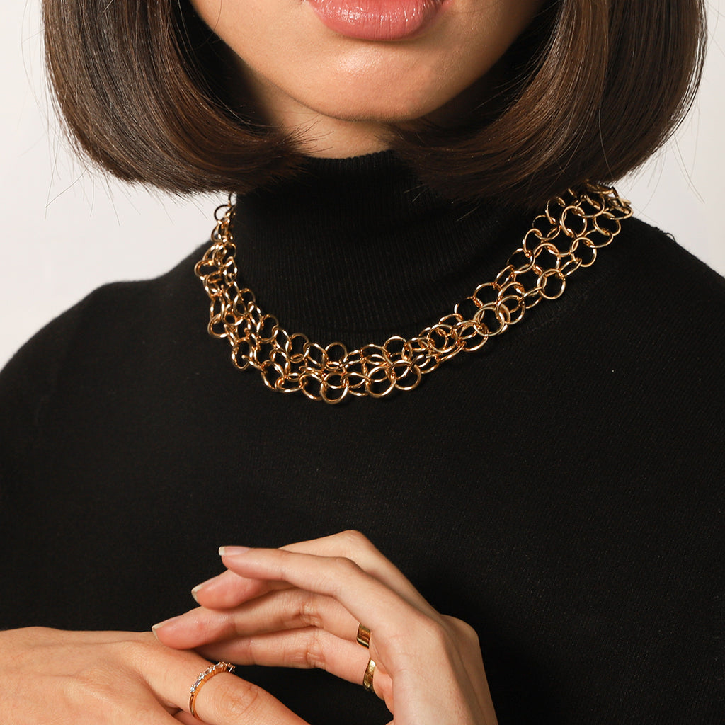 THE LEONETTE LAYERED NECKLACE