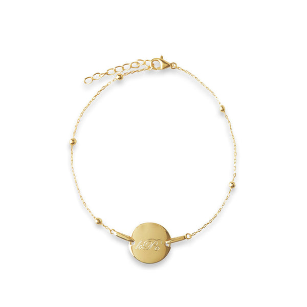 THE PERSONALIZED DISC BRACELET