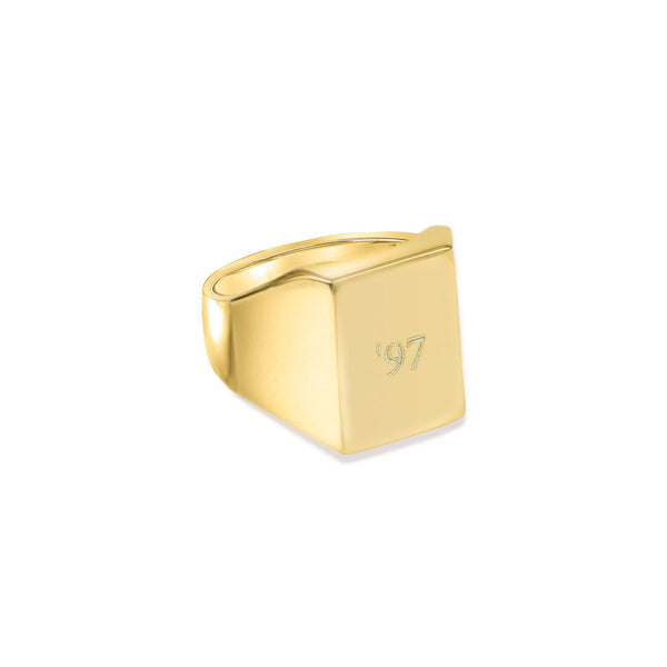 PERSONALIZED SQUARE RING