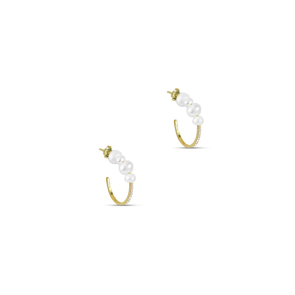 THE MELLIA PEARL EARRING