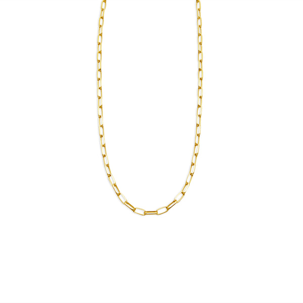 THE LAYERING LINK CHAIN NECKLACE