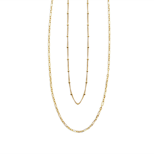THE CATALINA CHAIN NECKLACE SET