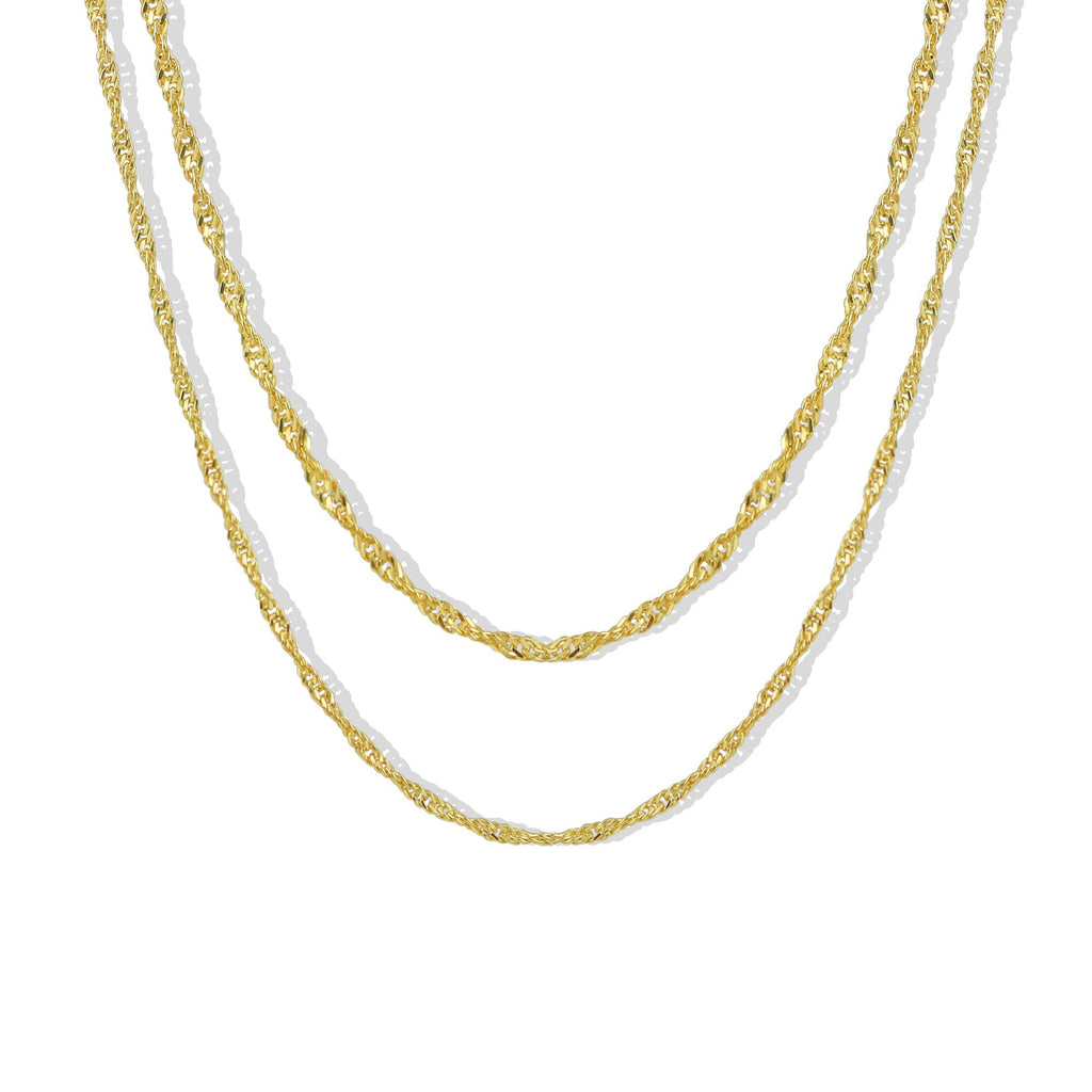 THE LAYERED MYA NECKLACE