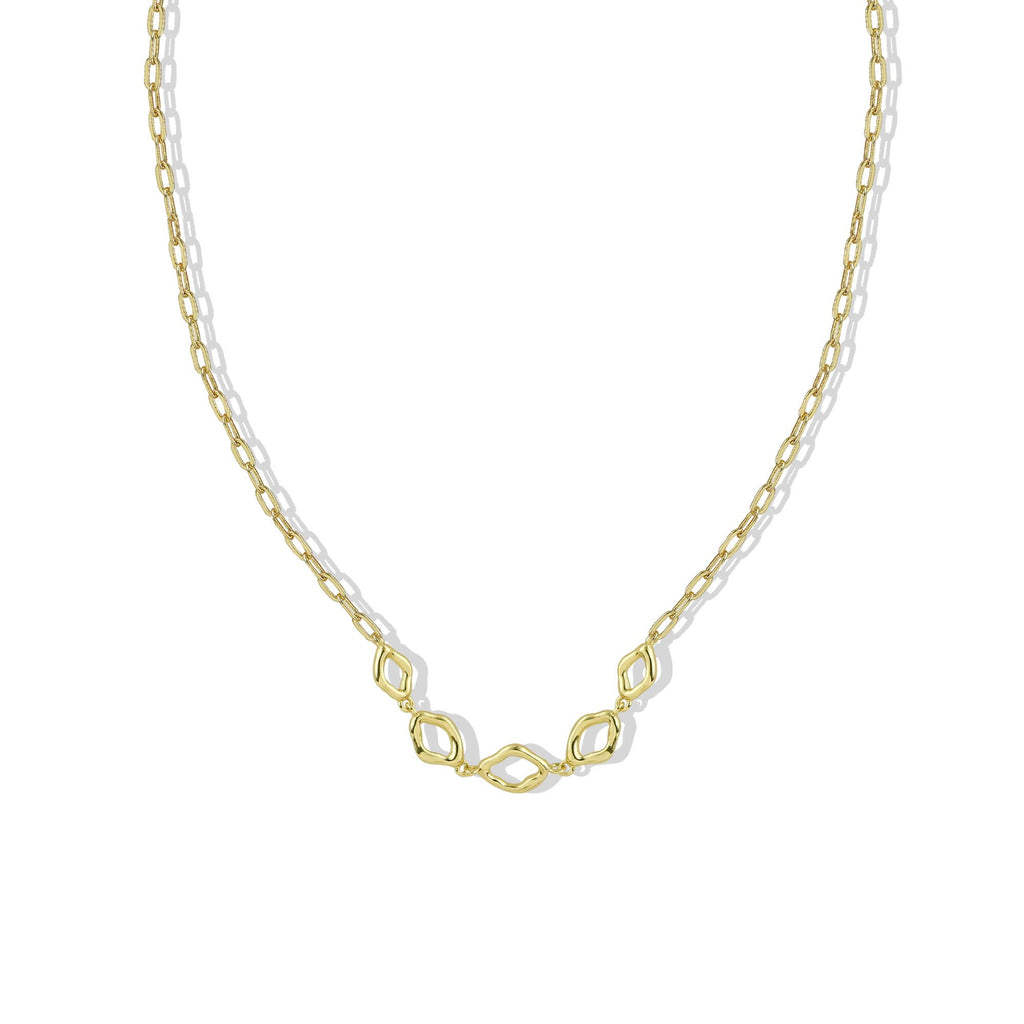 THE OPEN STATION LINK NECKLACE