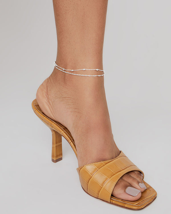 THE BEADED ANKLET