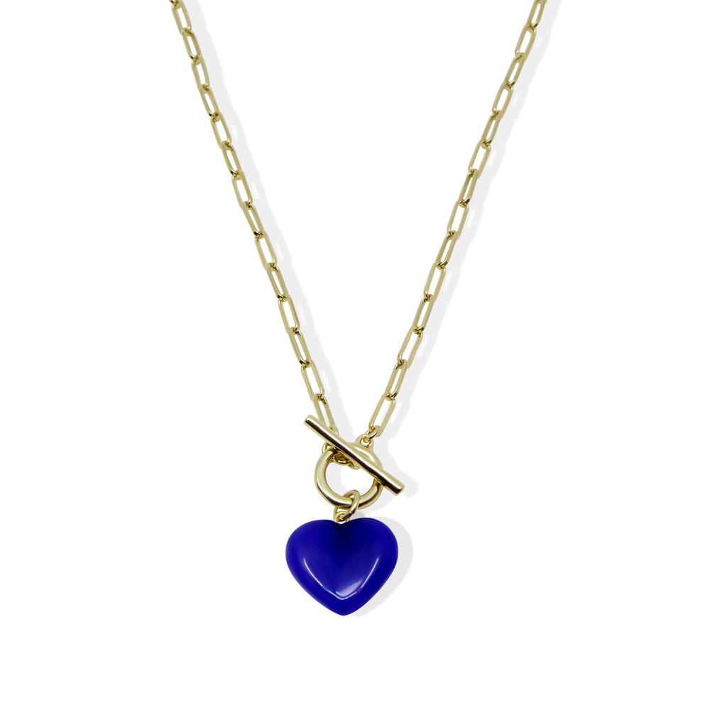 THE COBALT AMOUR LINK NECKLACE