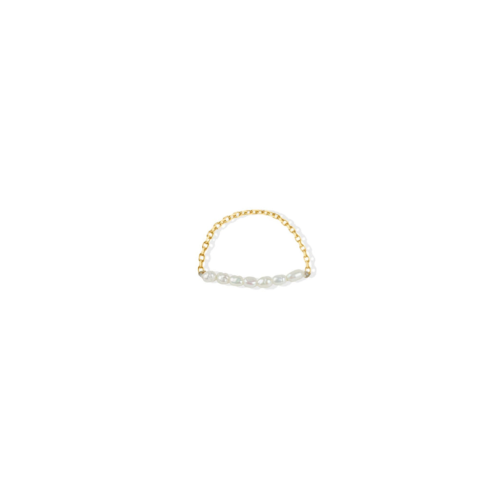 THE PEARL CHAIN RING