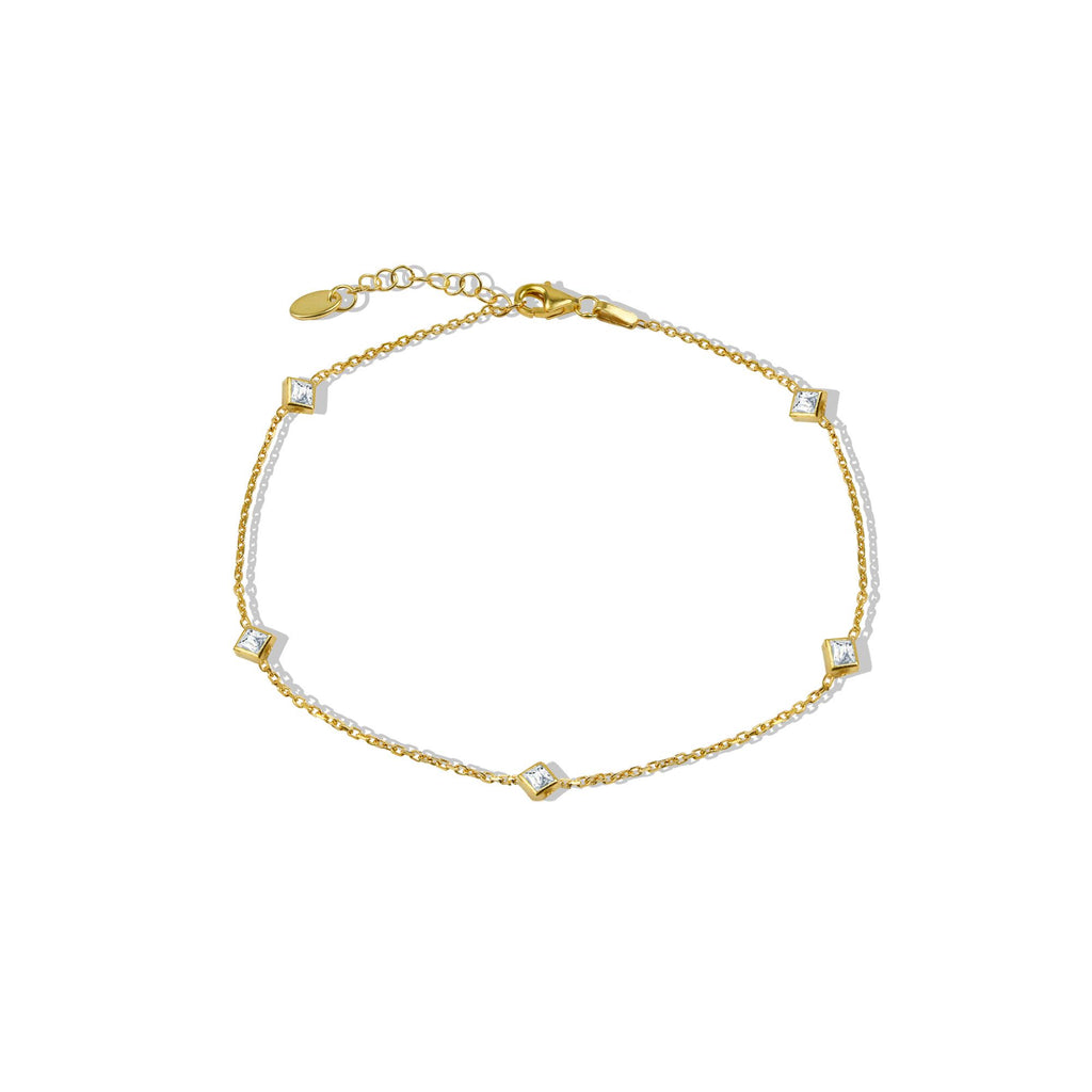 THE ESSENTIAL CZ DIAMOND ANKLET