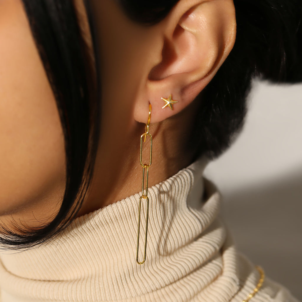 THE EVIE LINK EARRING