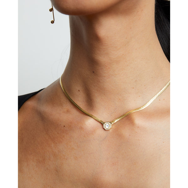 THE EVON FLAT CHAIN NECKLACE