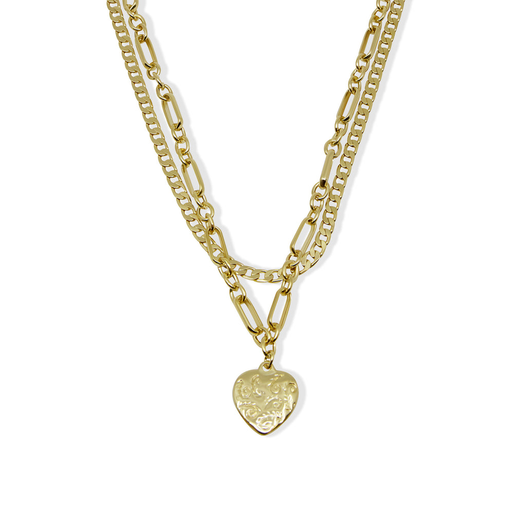 THE OSEA HEART NECKLACE