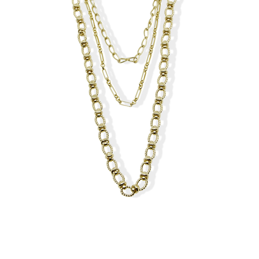 THE CELI TRIPLE LAYERED NECKLACE