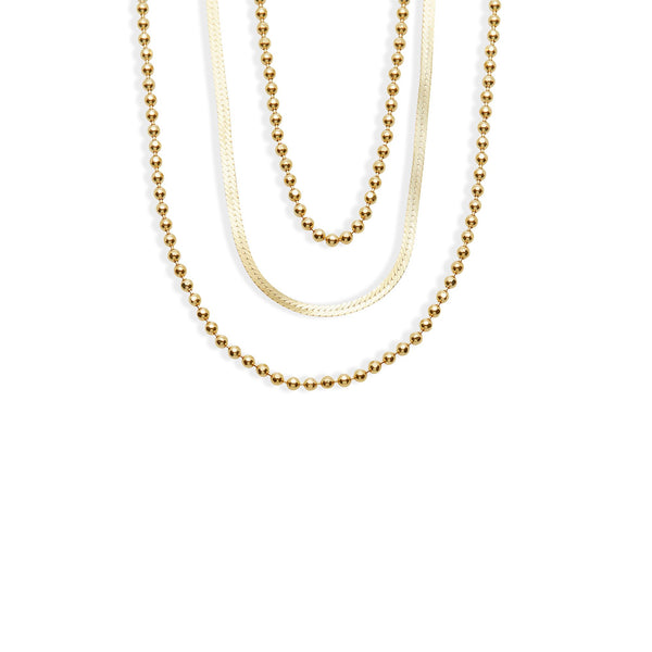 THE BEADED CHAIN NECKLACE