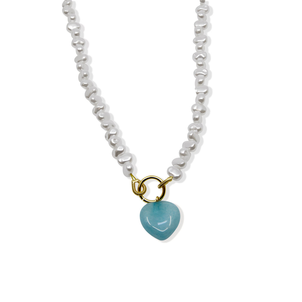 THE AQUA PEARL NECKLACE