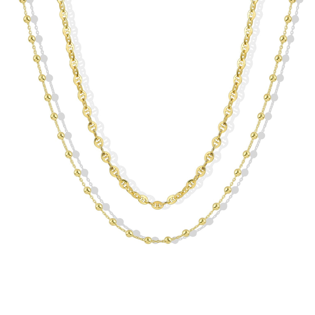 THE ROSALIA CHAIN NECKLACE SET