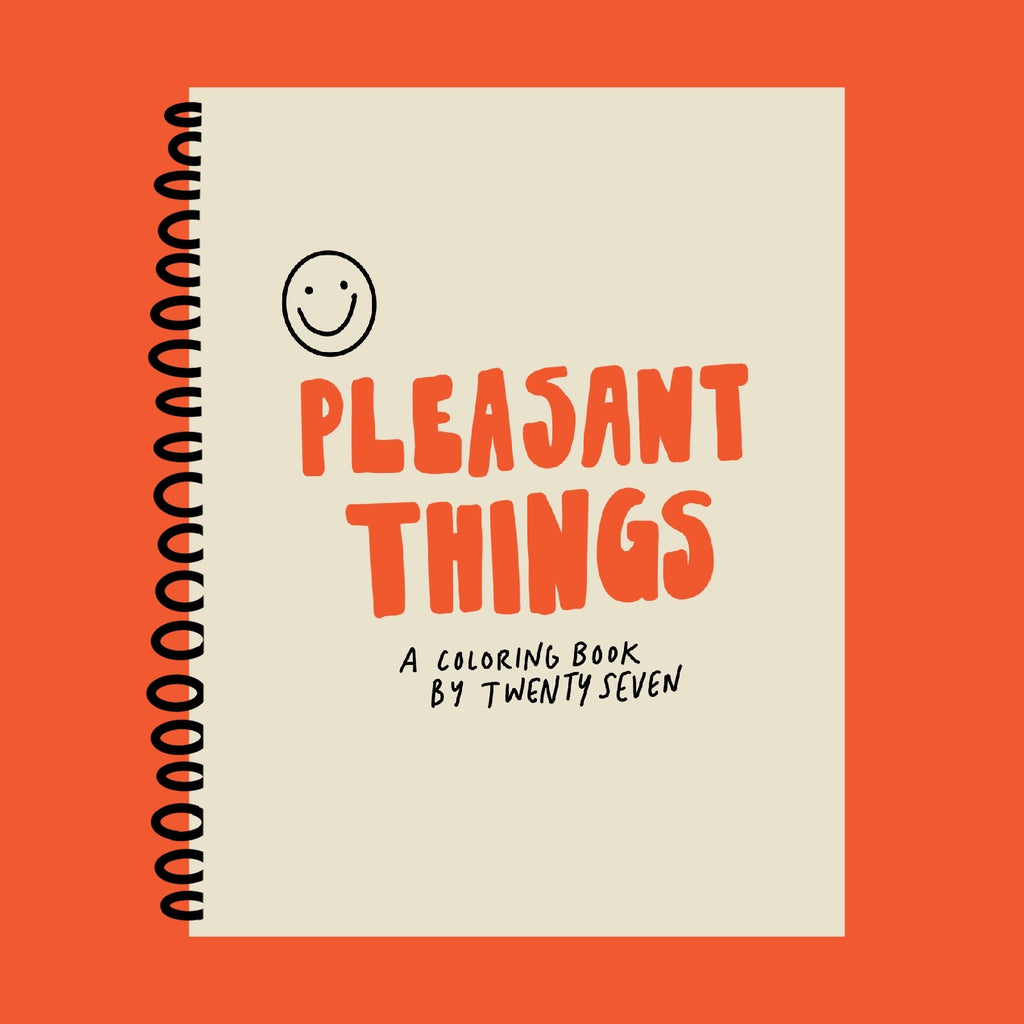 Pleasant Things Coloring Book