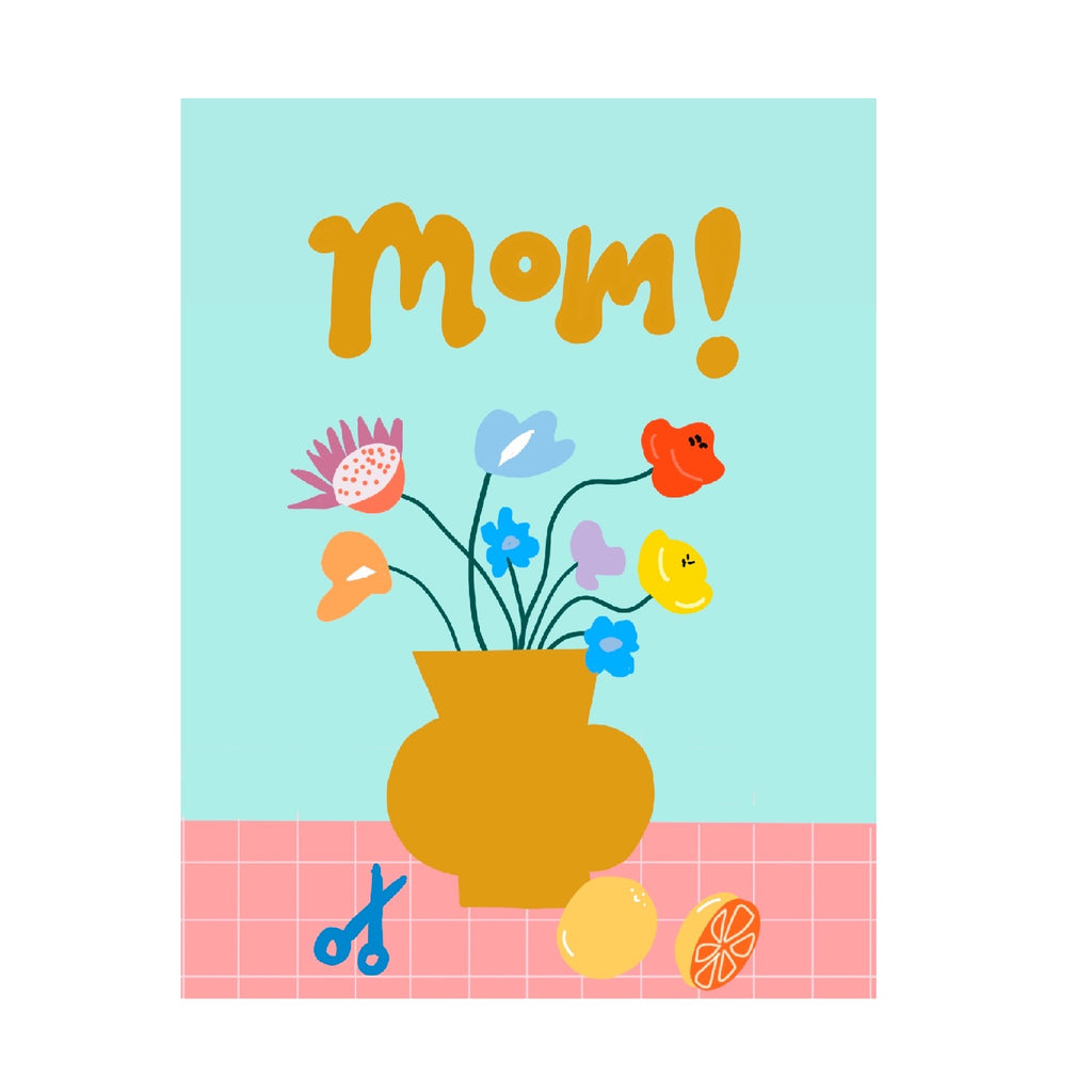 Card for Mom - flowers