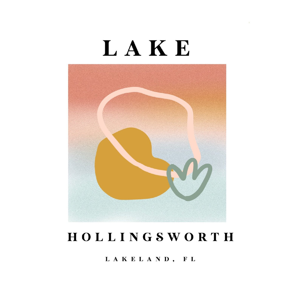 Lake Hollingsworth Parisian Print